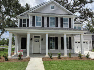 New two story home